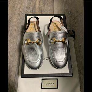 Gucci Toddler Princetown Leather Loafer Size 27